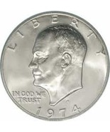 1974-S Uncirculated Eisenhower 40% Silver Dolla... - $16.00