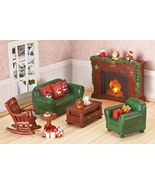 Collectible Lighted Miniature Christmas Furni... - $32.95