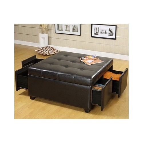 bench seat storage ottoman chair furniture home living room bedroom
