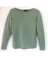 Charter Club Green sweater S Merino wool Light ... - $32.99