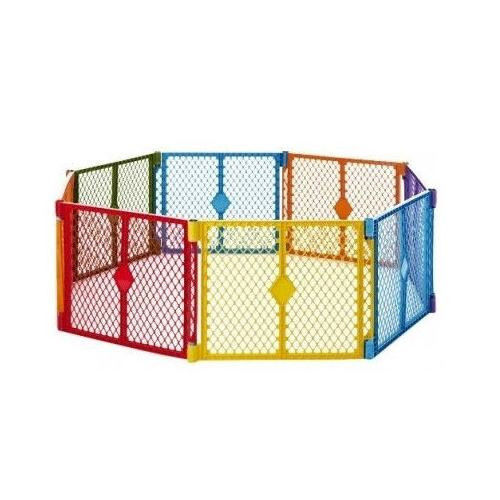 Child safety area childrens play zone pen panel gate for Childrens play yard