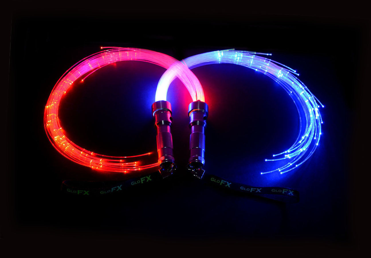 Fiber optic poi