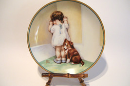 Bessie Pease Gutmann 1985 Collector Plate In Di... - $38.79