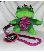 Poochie & Co. Zippered Plush Princess Frog Purs... - $16.99