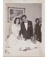 Old Antique Vintage Photograph Beautiful Bride ... - $6.24