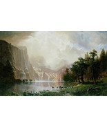 Among The Sierra Nevada Mountains California by... - $39.59