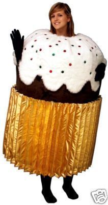 PROFESSIONAL CUSTOM MADE CUPCAKE MASCOT COSTUME