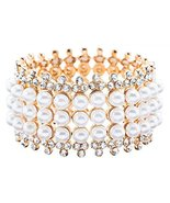 ACCESSORIESFOREVER Bridal Wedding Jewelry Stunn... - $24.10
