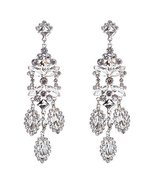 Bridal Wedding Jewelry Crystal Rhinestone Shine... - $15.00