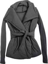 US 8 RICK OWENS LILIES Gray Puffer Padded Wrap ... - $387.10