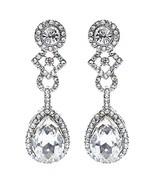 Bridal Wedding Jewelry Elegant Classic Teardrop... - $11.00