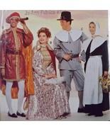 Costume SEW Ptrn 6375~Pilgrims Columbus Queen T... - $9.89