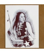 Limited Edition Native American Print Indian Dr... - $49.97