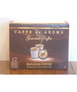 Caffe De Aroma Bananas Foster Single Serve Cup... - $8.99