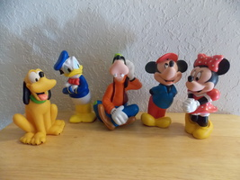 Disney 5pc. PVC Character Figurines  - $25.00