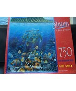 Seascapes Jigsaw Puzzle by Robert Lyn Nelson 75... - $2.50