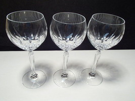 SPIEGELAU CRYSTAL WINES IN NARCISSUS PATTERN - $29.95