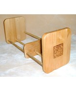Napa Valley Box Co. Wood Tabletop CD Rack - $9.75