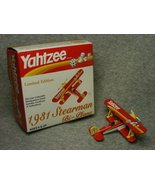 Yahtzee Limited Edition 1931 Stearman Bi-Plane  - $19.99