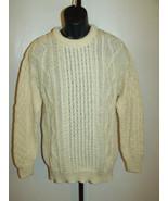 Arancrafts Irish Thick Wool Ireland Cable Knit ... - $75.23