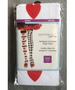 Halloween Costume Harlequin and Hearts Thigh Hi... - $4.97