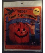 One Giant Super Stuff-a- Pumpkin Jack-o-lantern... - $3.99