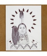 Limited Edition Native American Print Indian Wo... - $49.97