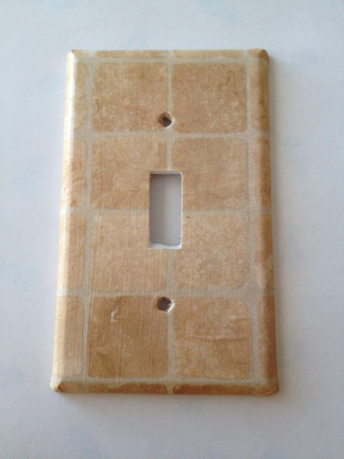 Italian stone tiles light switch covers home decor outlet for Decor light switch