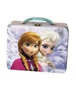Disney's Frozen Elsa & Anna Tin Embossed Lunch ... - $8.59