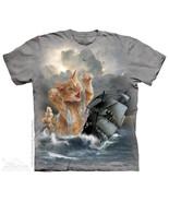 The Mountain T-Shirt Krakitten Kraken Cat Kitte... - $21.54 - $24.48