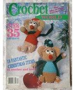 Crochet World, Dec., 1988 -- Back Issue, Volume... - $5.00