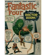 Fantastic Four (1961) # 5 GOOD Condition Marvel... - $360.00