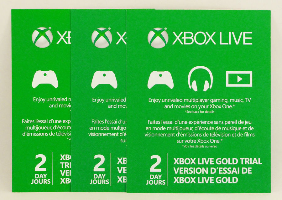 how to get free 2 day xbox live gold trial