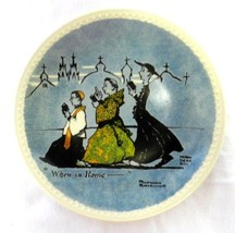 Newall Pottery Norman Rockwell On Tour When In ... - $39.57