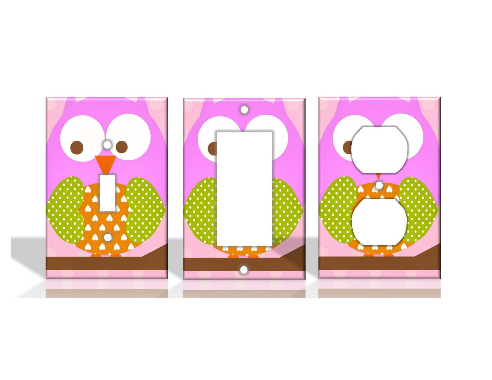 Owl Pink Light Switch Covers Home Decor Outlet Switch