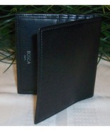 Bosca Men's Mens Nappa Vitello Leather Vertical... - $25.00