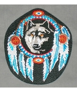 Embroidered Patch Wolf Shield Patch - $4.34