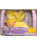 Anne Geddes Doll Baby Butterflies Bean Filled Y... - $54.00