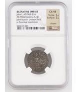 969-976 East Roman Byzantine AR Miliaresion Coi... - $395.01