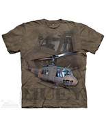 The Mountain T-Shirt U.S. Army Huey Helicopter ... - $22.74