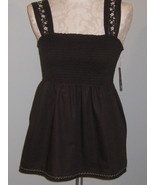 Style & Co  Chocolate Brown Smock Size 12 NWT - $22.00