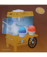 HBO CARNIVALE Snow Cone Machine Maker Old Fashi... - $98.99