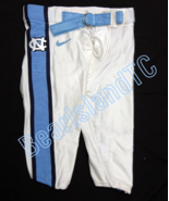 UNC TARHEEL GAME USED FOOTBALL PANTS WHITE Size 36 - $32.00