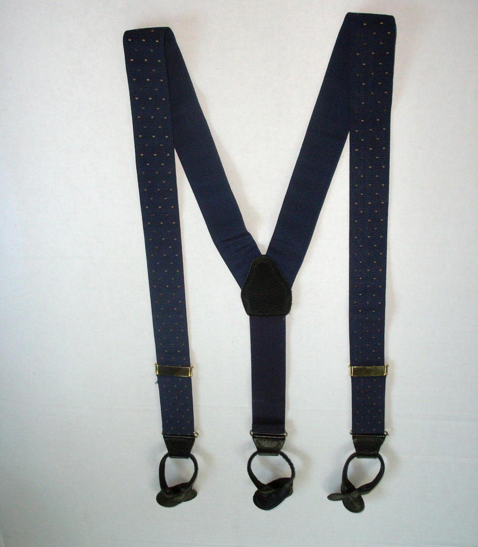 Suspenders Braces Leather Fittings