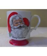 Lefton Santa Claus Merry Christmas Footed Mug ... - $7.99