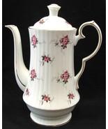Princess House Coffee Pot Windsor Rose Hammers... - $54.00