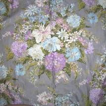 30s Vintage Waverly Floral Drape Curtain Panels... - $63.75