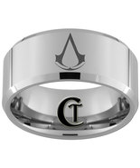 10mm Beveled Tungsten Carbide Assassin's Creed ... - $49.00
