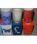 4 Mini Candles Soy Wax Unscented Snakeskin Shoe... - $9.89