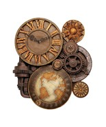 Toscano Gears of Time Sculptural Wall Clock - a... - $90.00